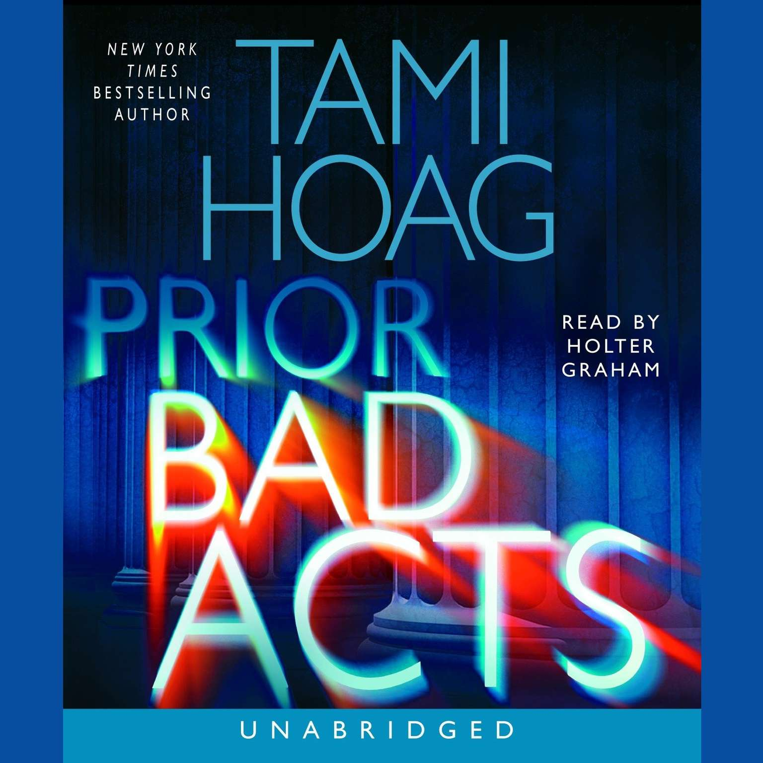Printable Prior Bad Acts Audiobook Cover Art