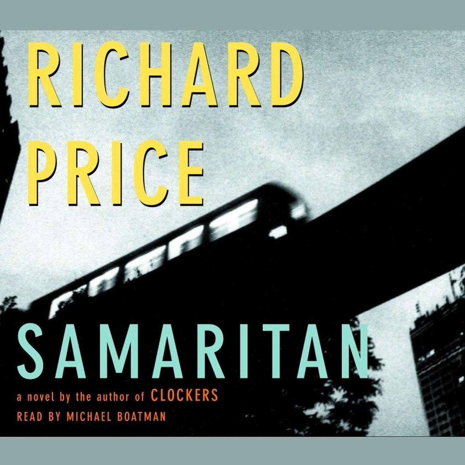 Printable Samaritan Audiobook Cover Art