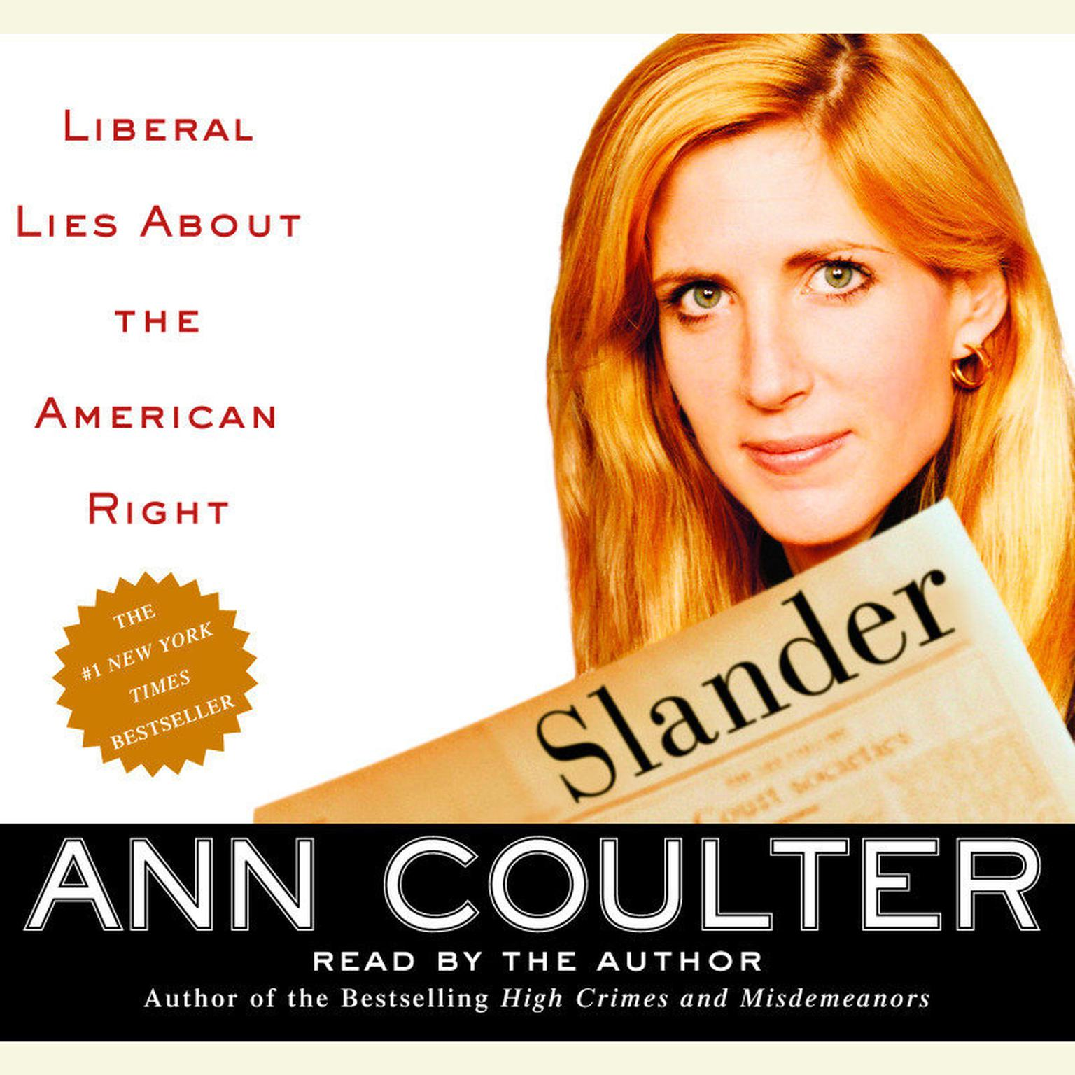 Printable Slander: Liberal Lies about the American Right Audiobook Cover Art