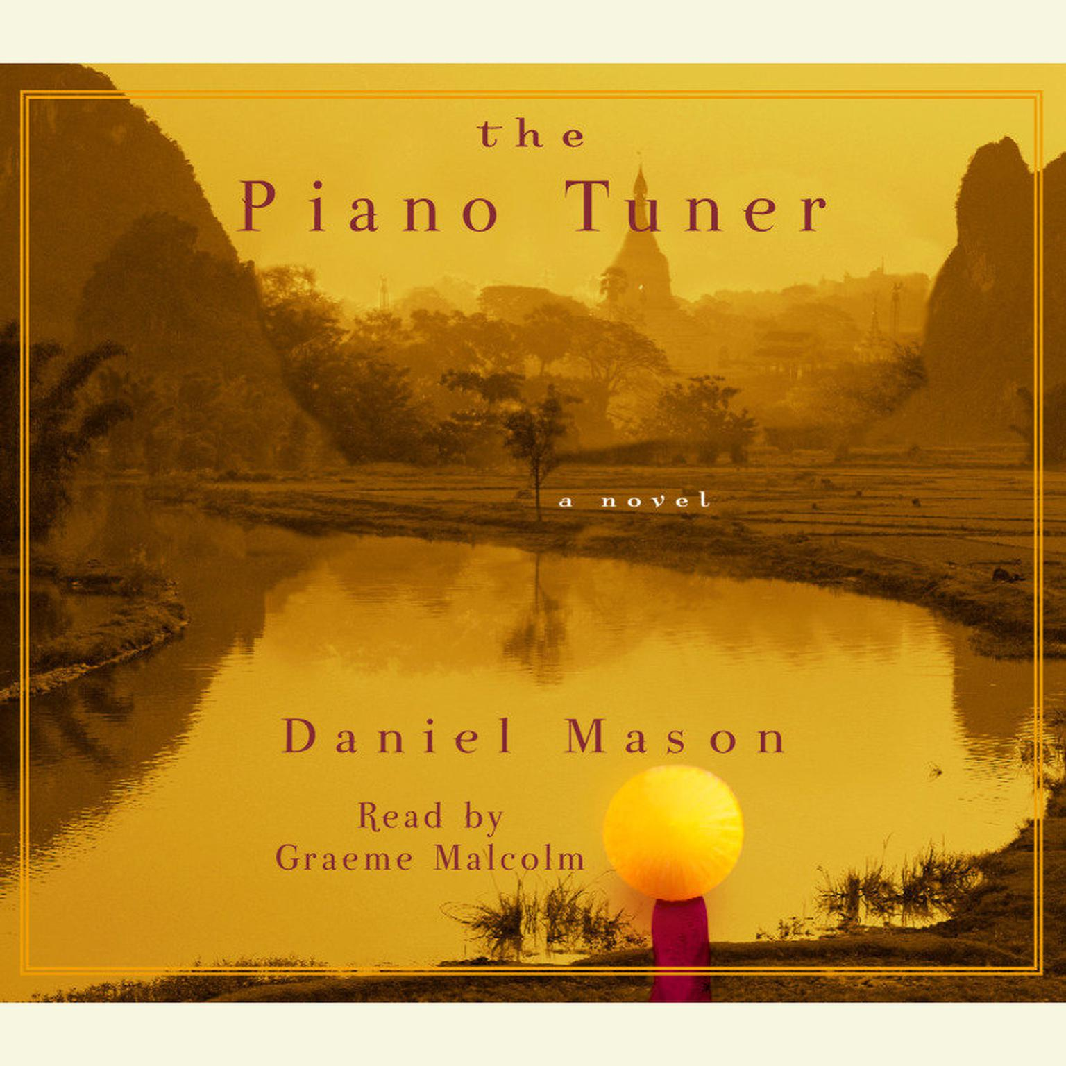 Printable The Piano Tuner: A Novel Audiobook Cover Art