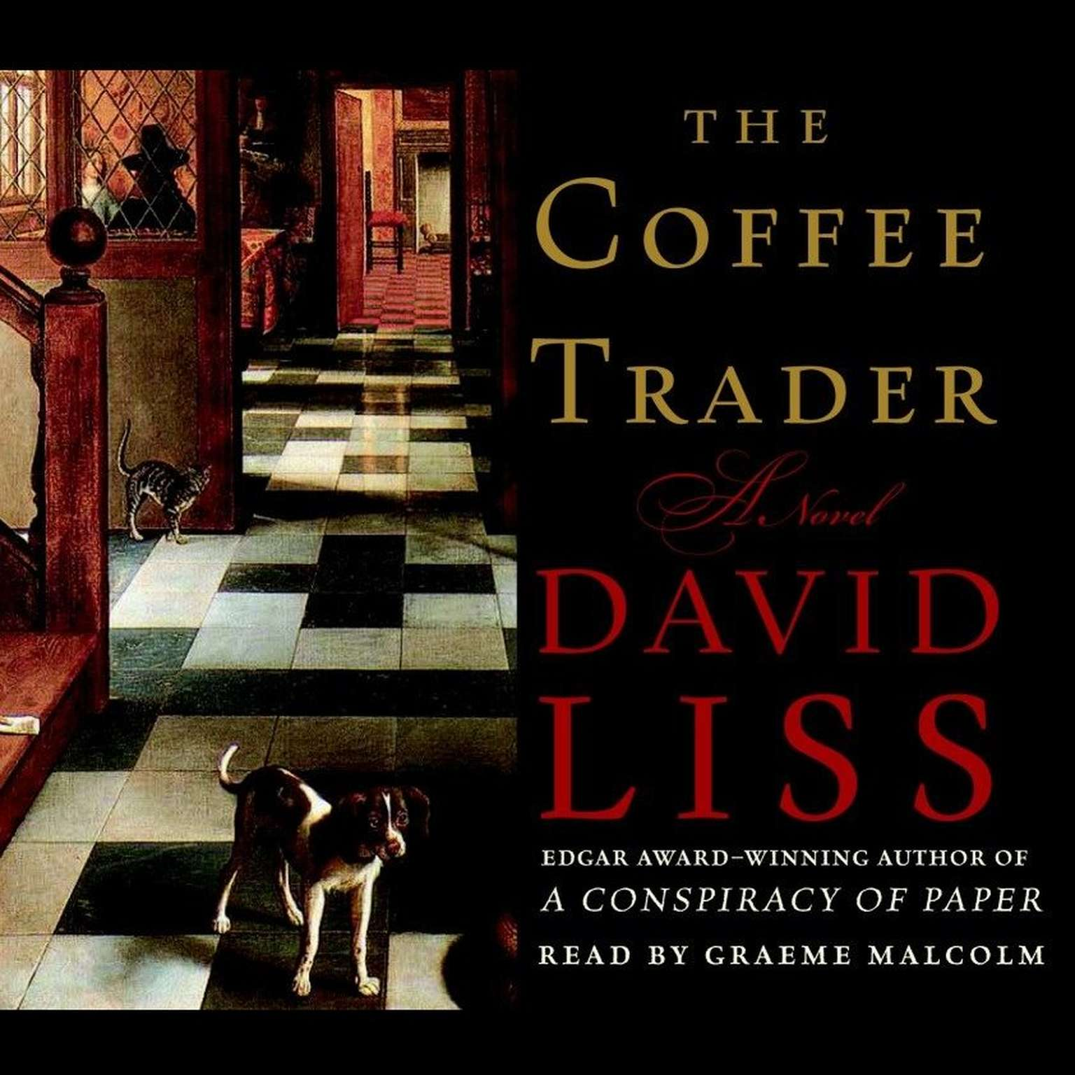 Printable The Coffee Trader: A Novel Audiobook Cover Art