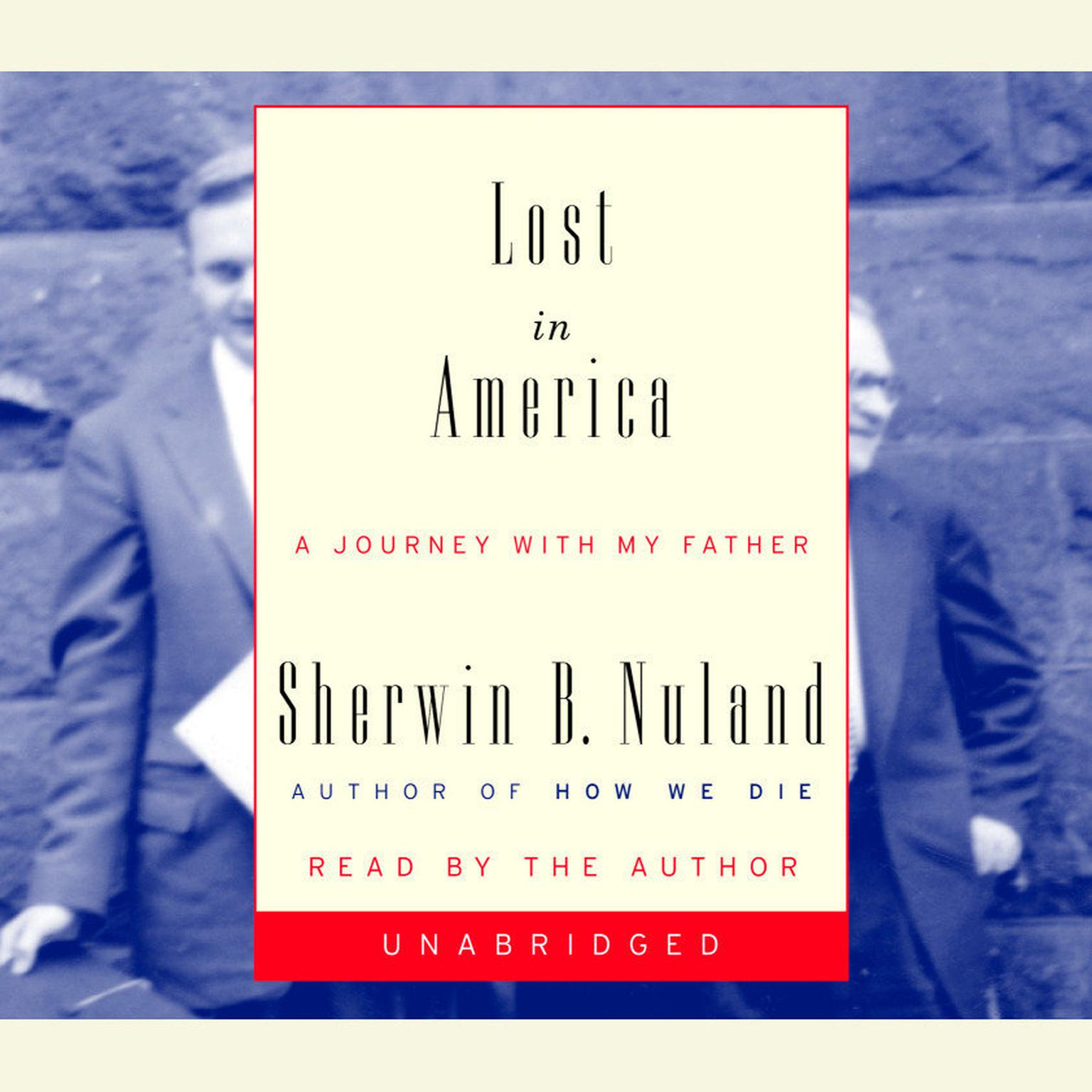 Printable Lost in America: A Journey with My Father Audiobook Cover Art