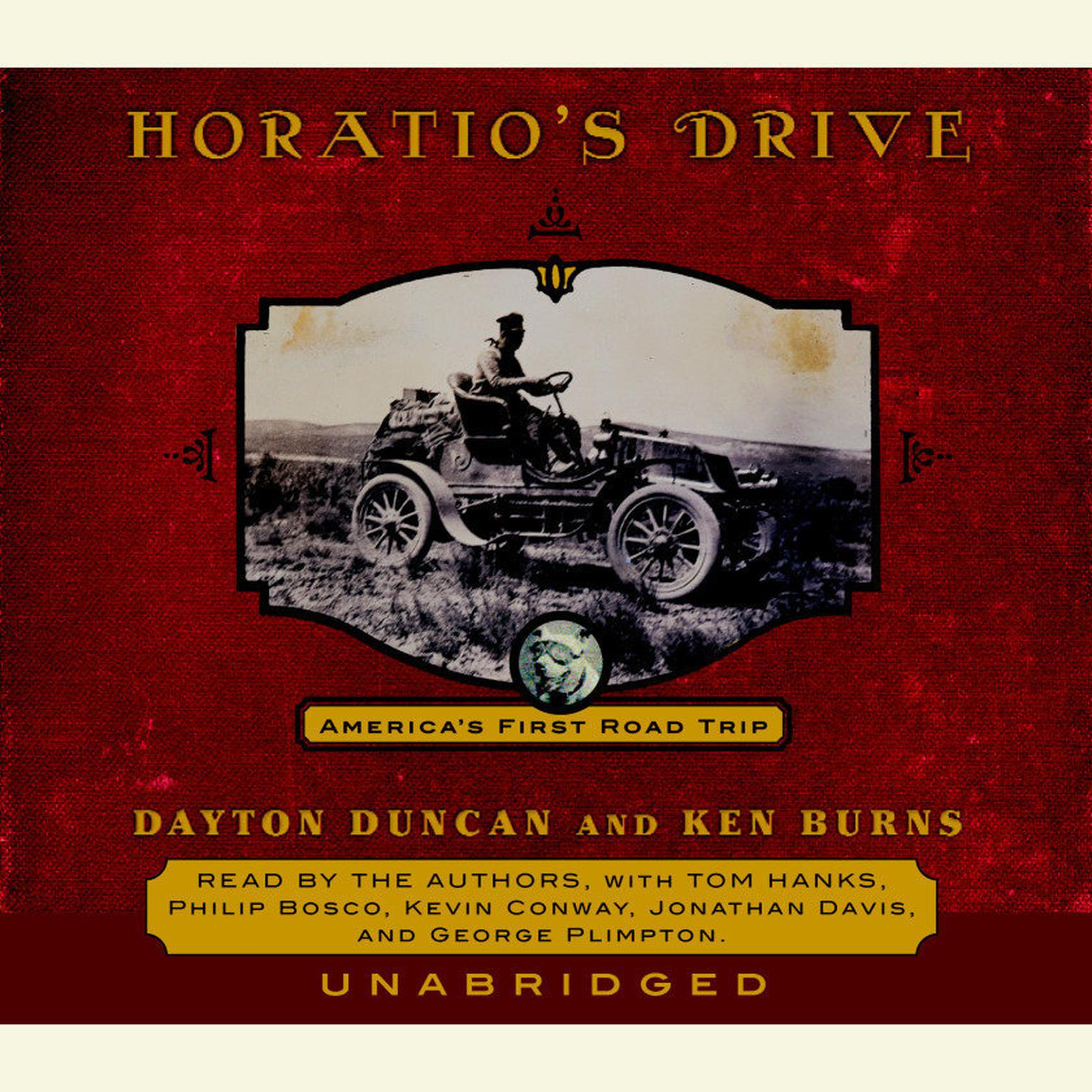 Printable Horatio's Drive: America's First Road Trip Audiobook Cover Art