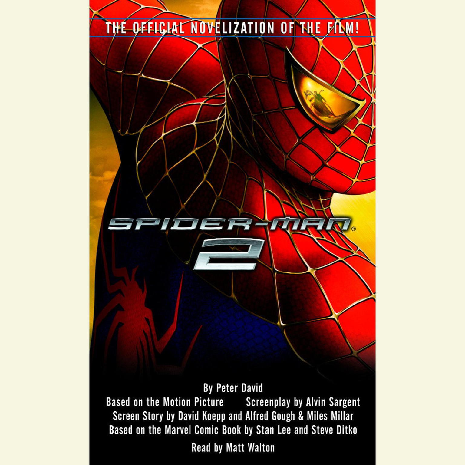 Printable Spider-Man 2 Audiobook Cover Art
