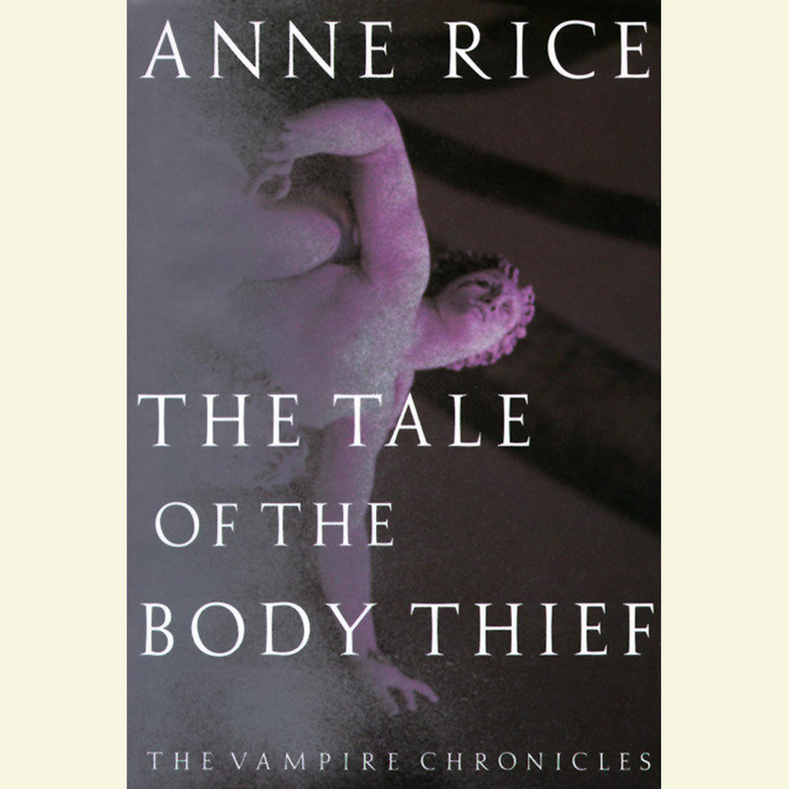 Printable The Tale of the Body Thief Audiobook Cover Art