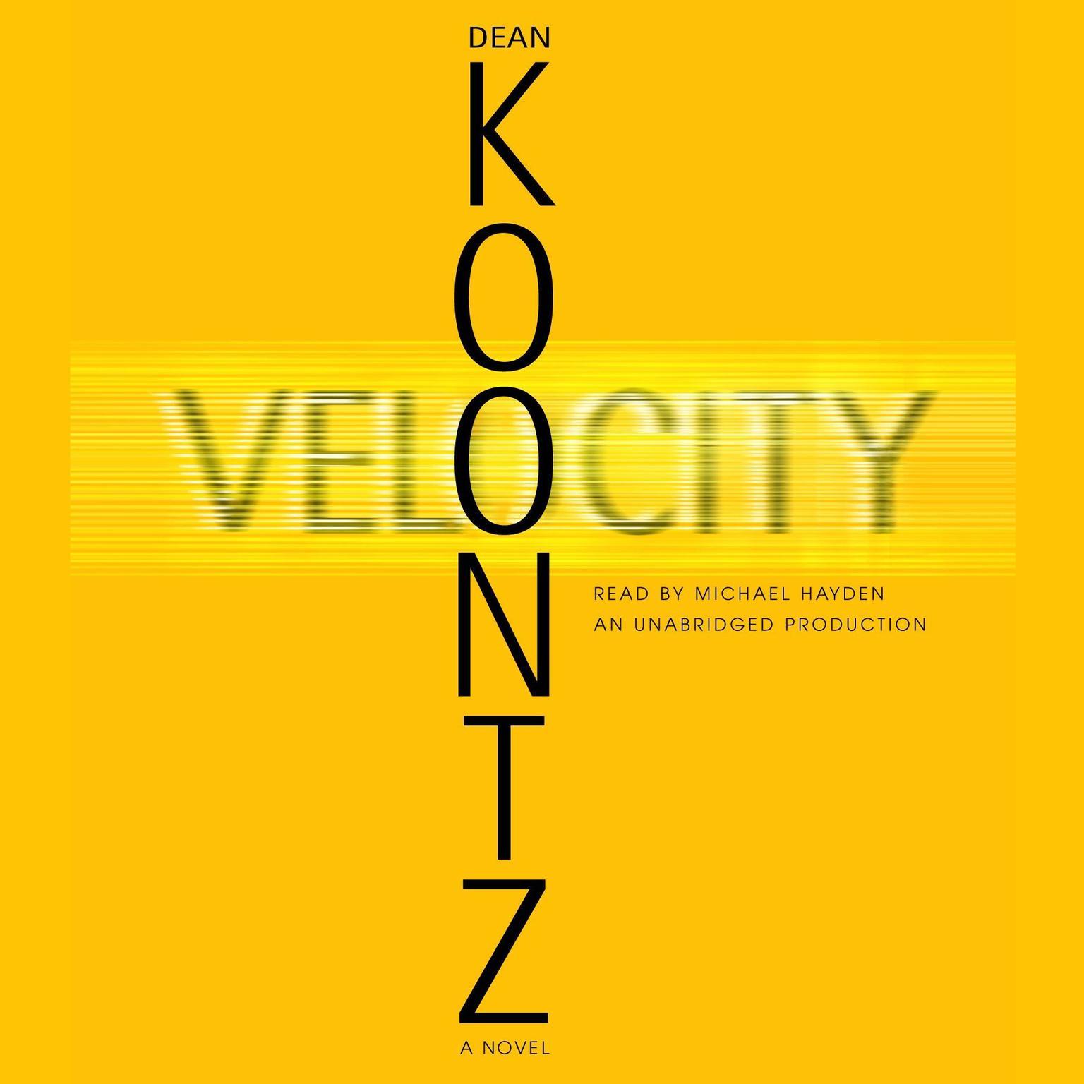 Printable Velocity Audiobook Cover Art