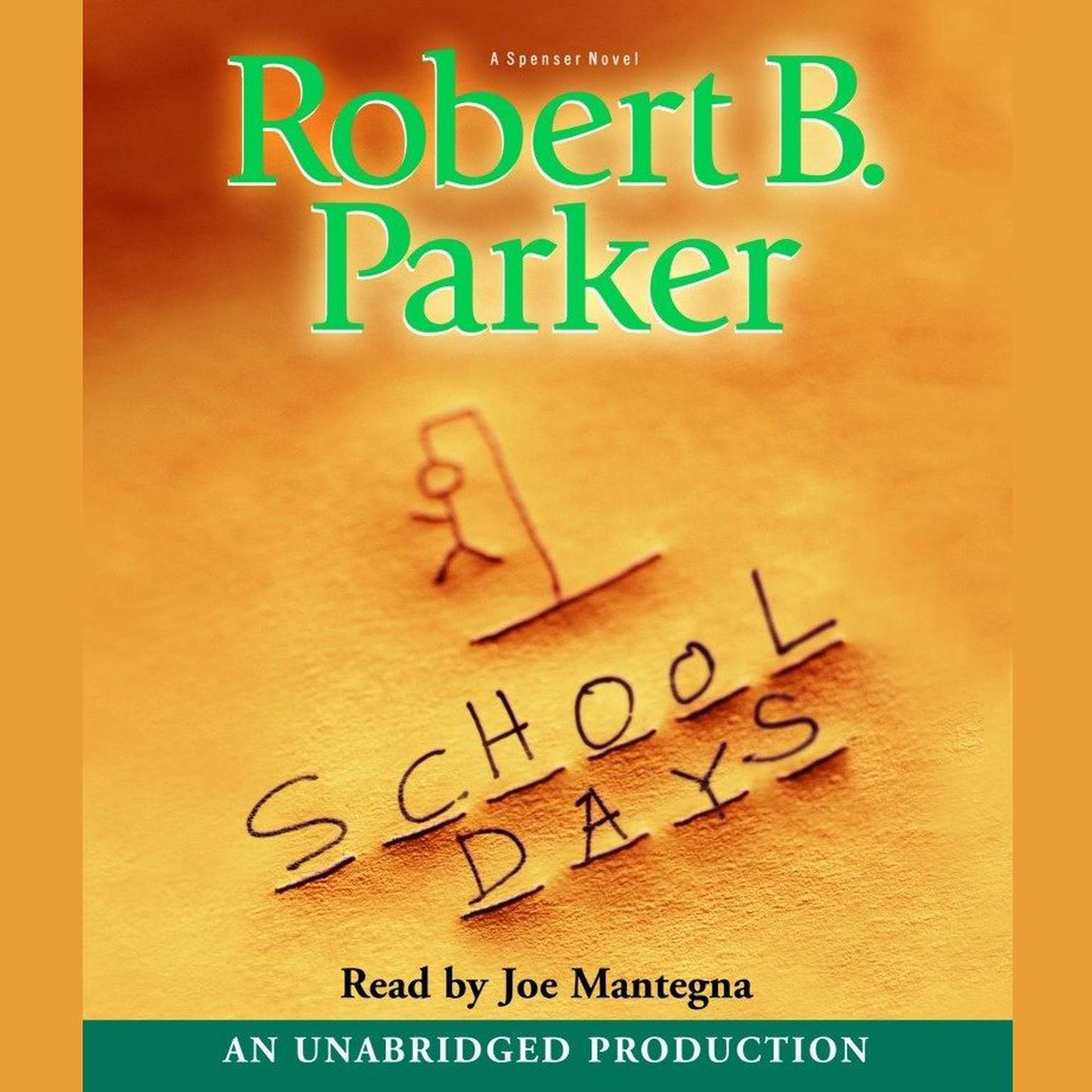 Printable School Days Audiobook Cover Art