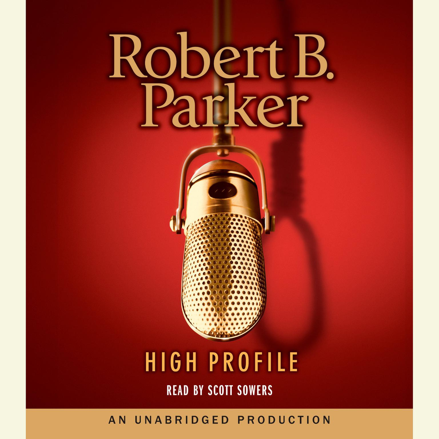 Printable High Profile Audiobook Cover Art