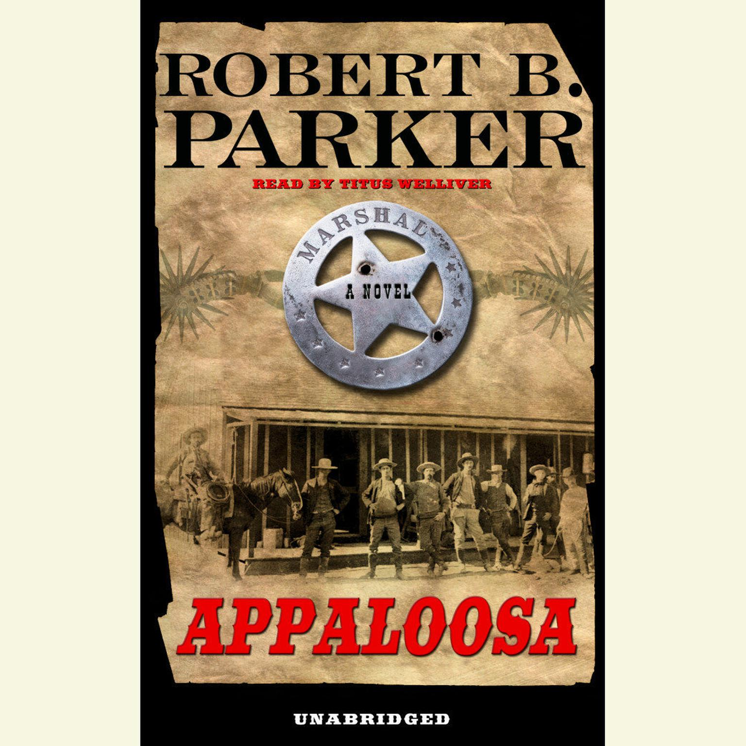 Printable Appaloosa Audiobook Cover Art