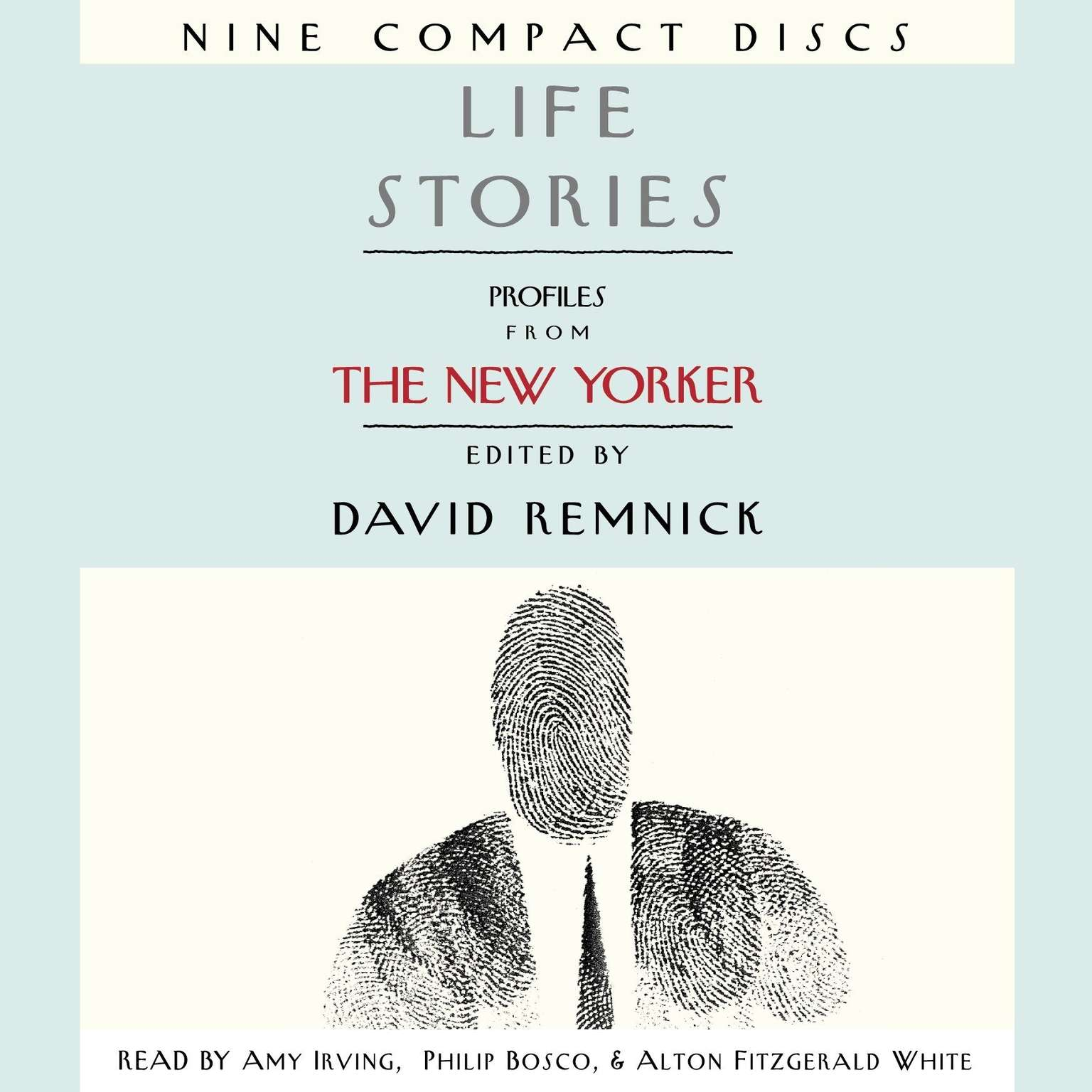 Printable Life Stories: Profiles from The New Yorker Audiobook Cover Art