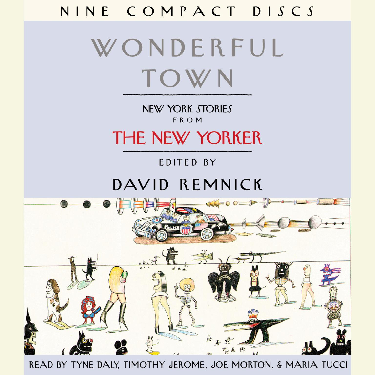 Printable Wonderful Town: New York Stories from The New Yorker Audiobook Cover Art
