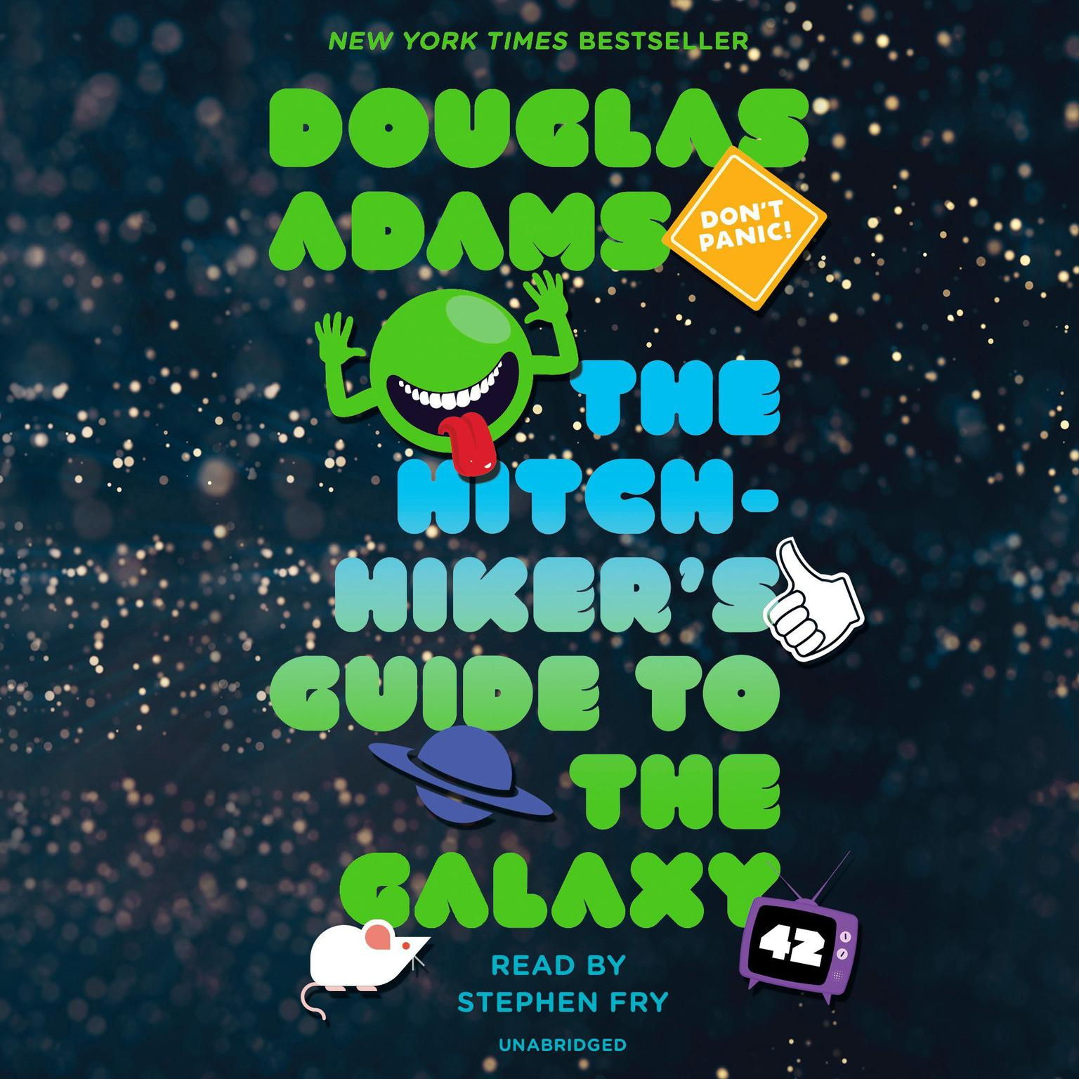 Printable The Hitchhiker's Guide to the Galaxy Audiobook Cover Art