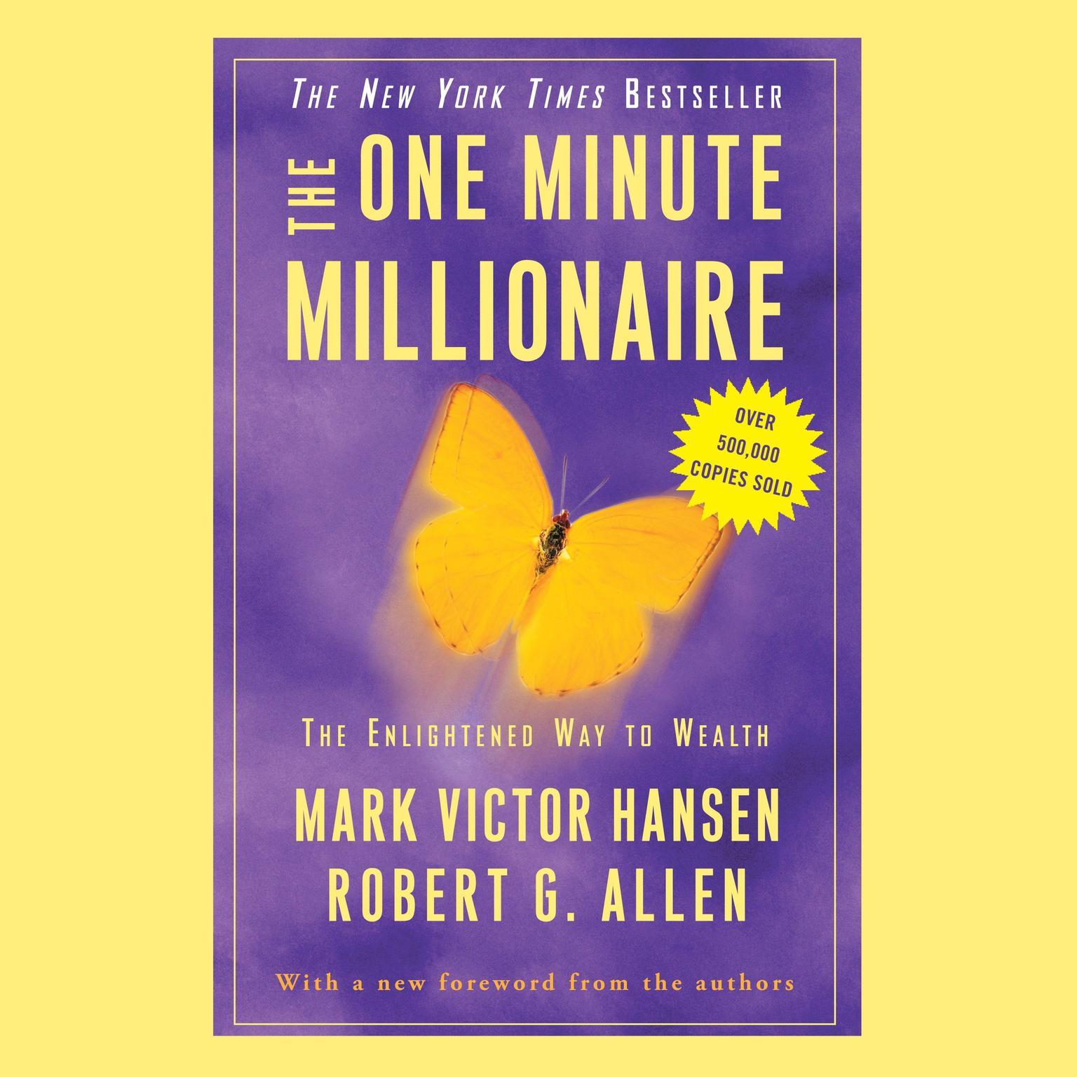 Printable The One Minute Millionaire: The Enlightened Way to Wealth Audiobook Cover Art