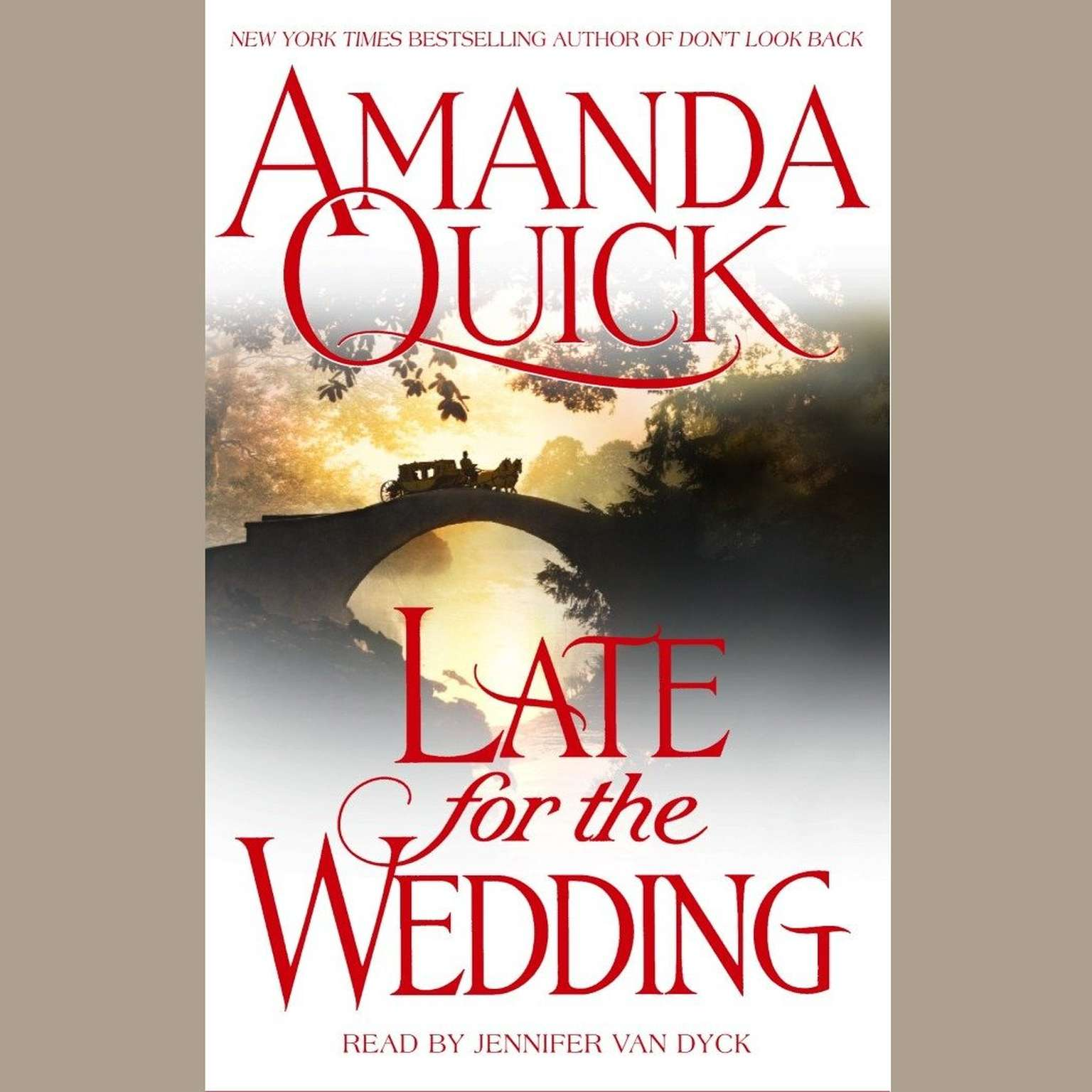 Printable Late For the Wedding Audiobook Cover Art