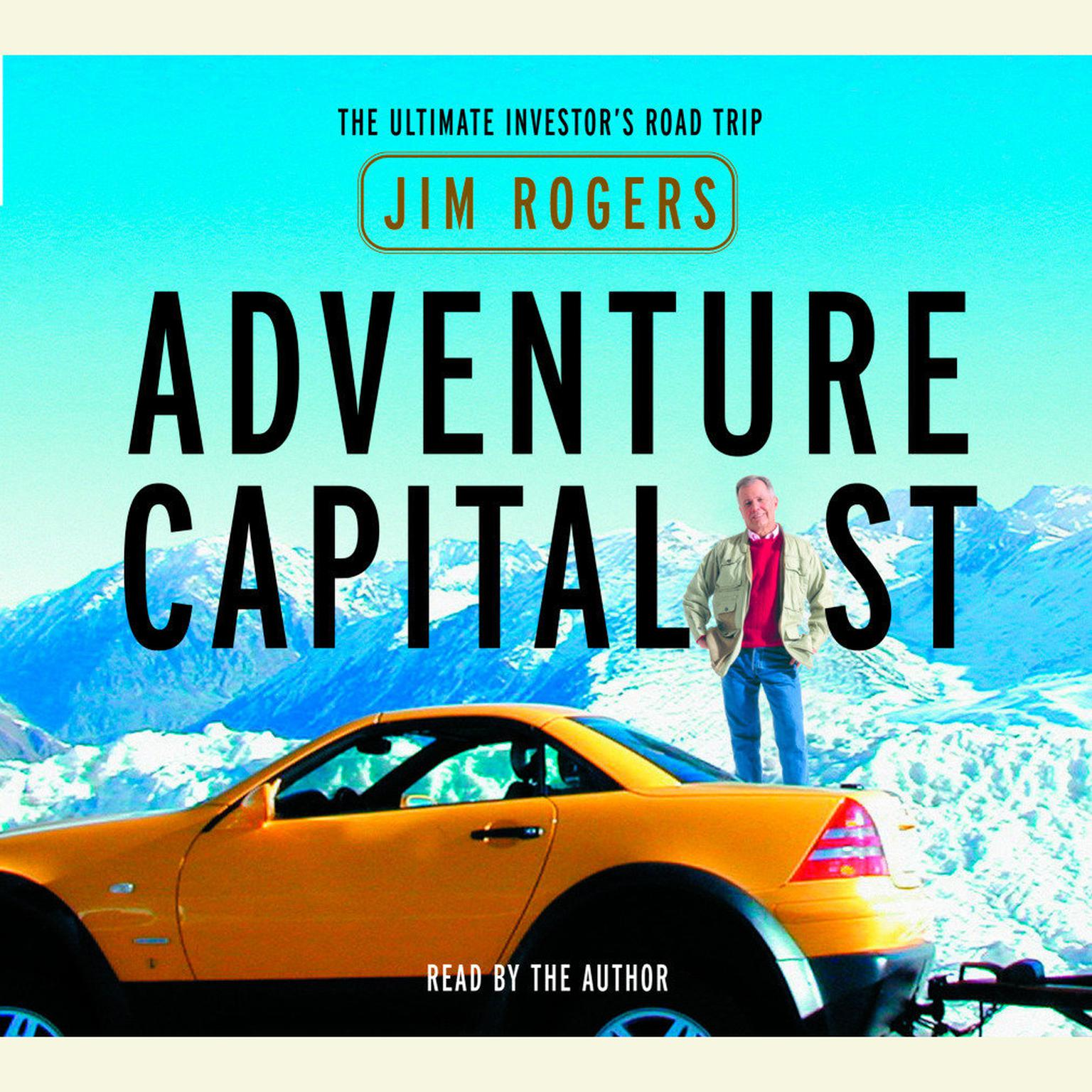 Printable Adventure Capitalist: The Ultimate Road Trip Audiobook Cover Art