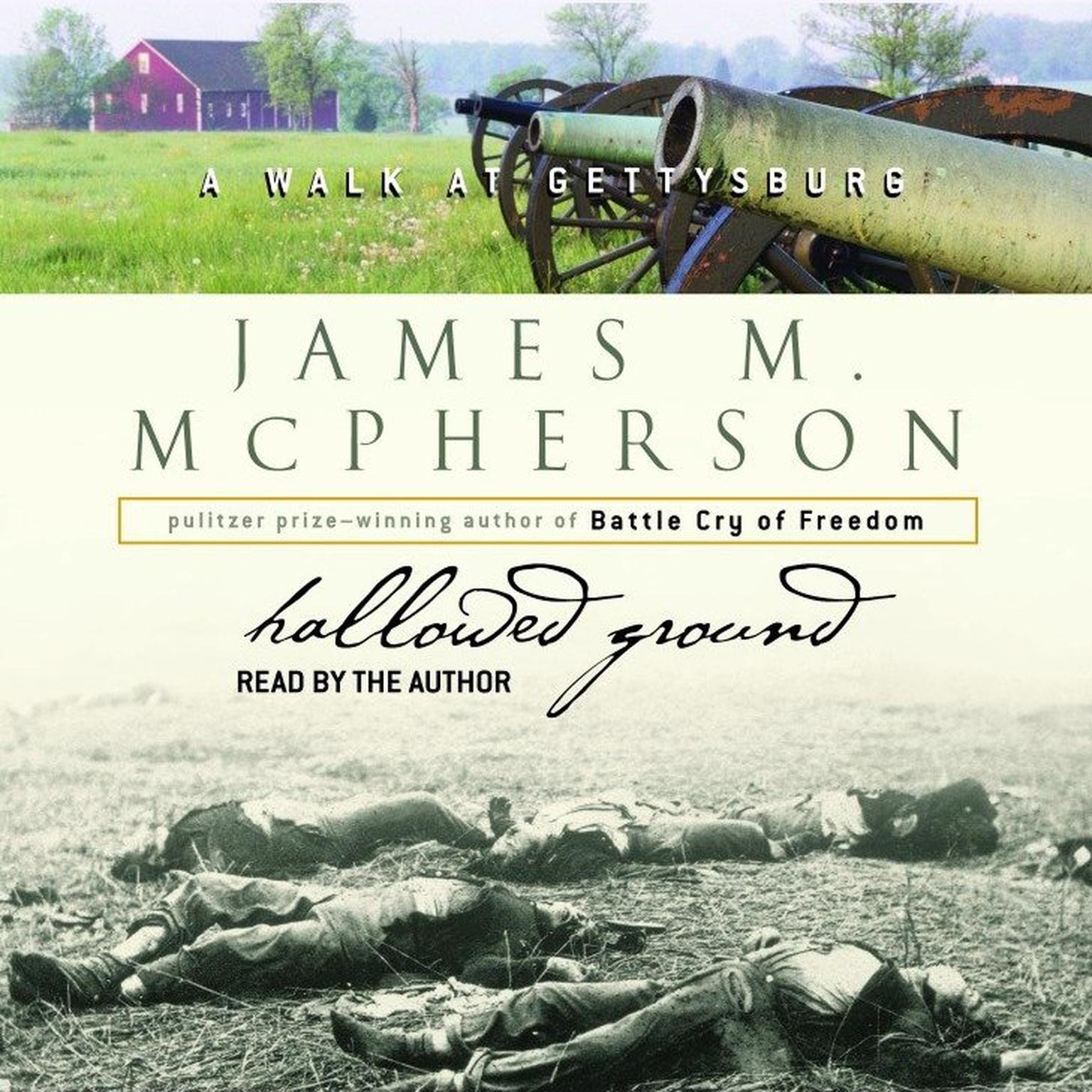 Printable Hallowed Ground: A Walk at Gettysburg Audiobook Cover Art