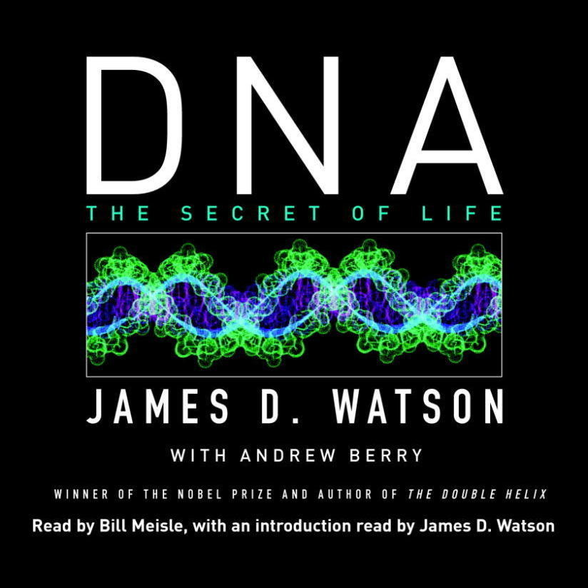 Printable DNA: The Secret of Life Audiobook Cover Art