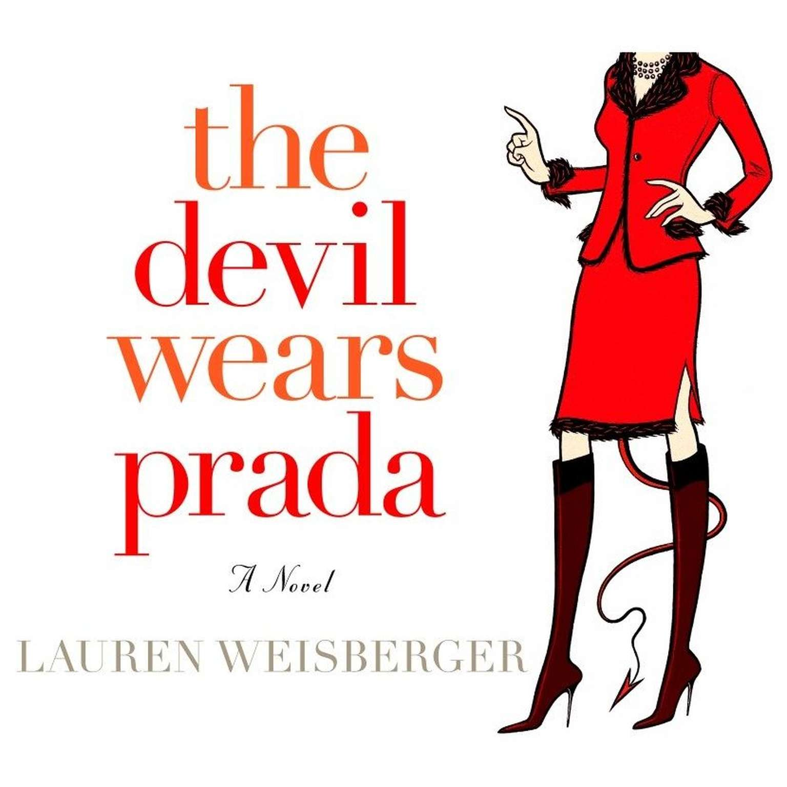 Printable The Devil Wears Prada Audiobook Cover Art