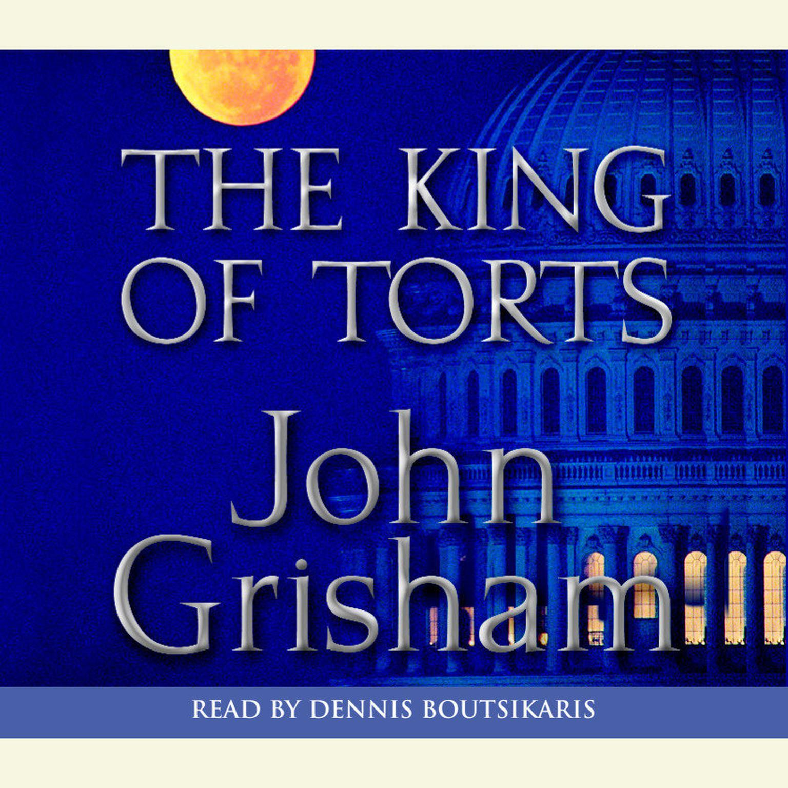Printable The King of Torts: A Novel Audiobook Cover Art