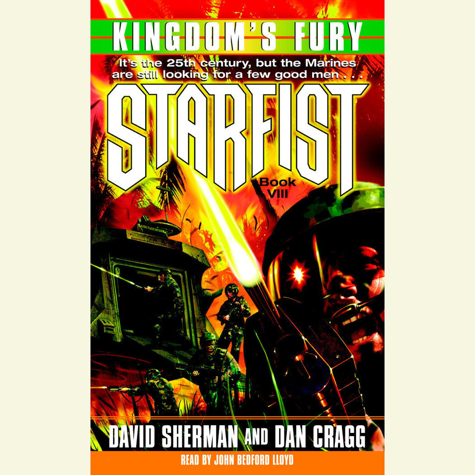Printable StarFist: Kingdom's Fury Audiobook Cover Art