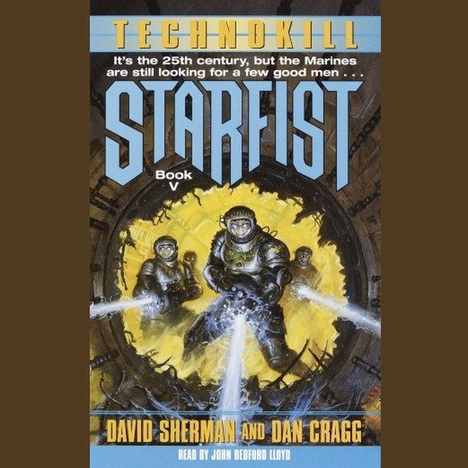 Printable StarFist: Technokill Audiobook Cover Art