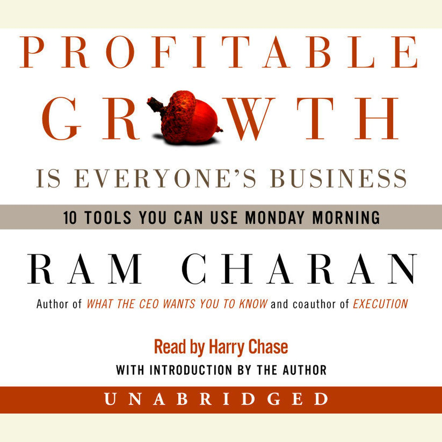 Printable Profitable Growth Is Everyone's Business: 10 Tools You Can Use Monday Morning Audiobook Cover Art