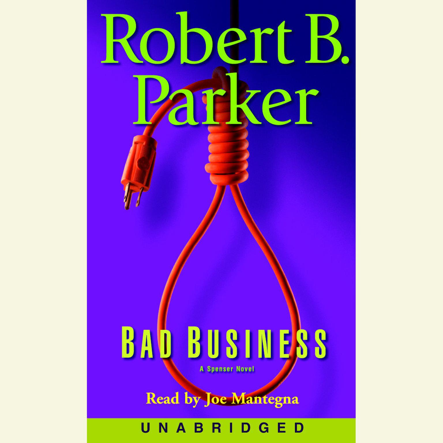 Printable Bad Business Audiobook Cover Art