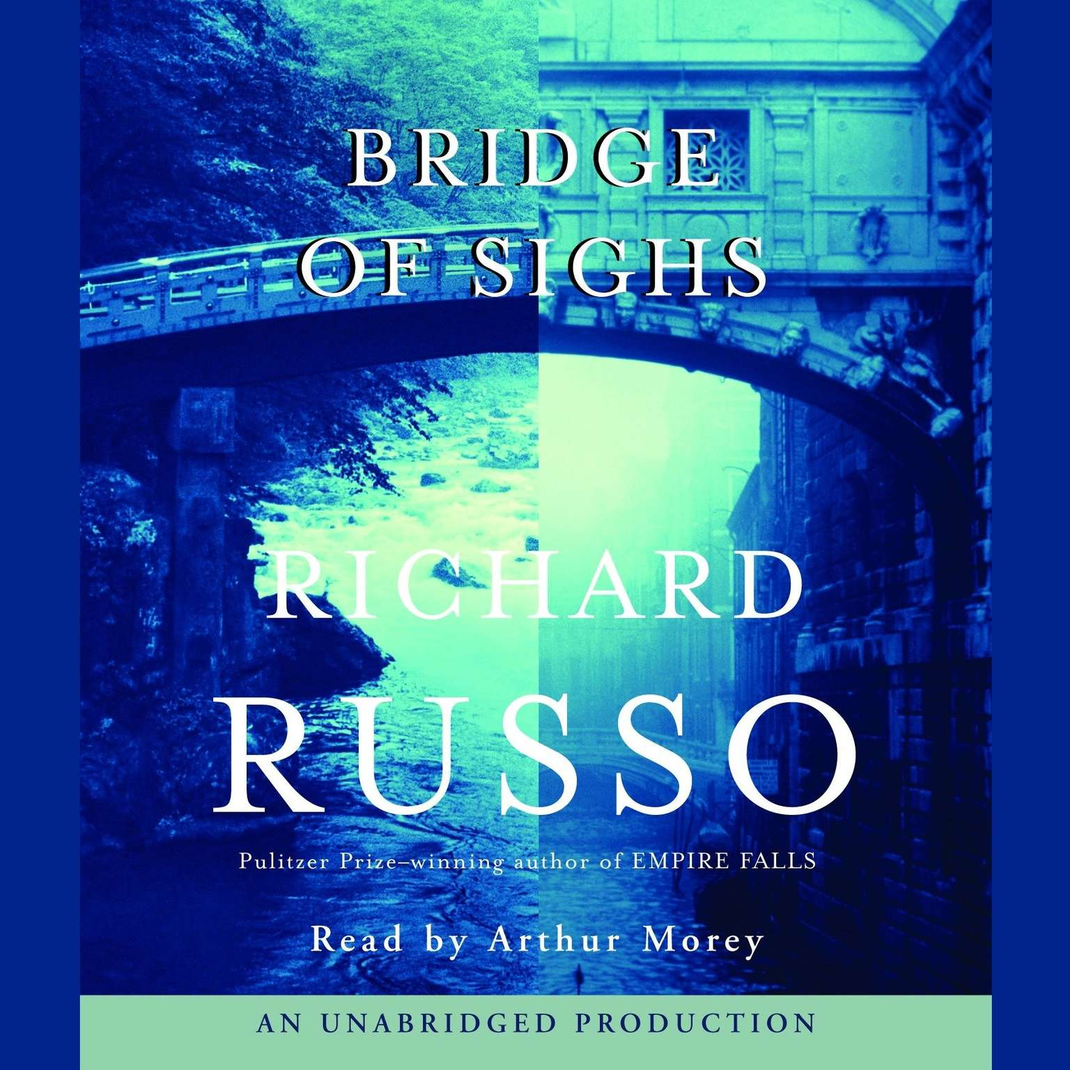 Printable Bridge of Sighs Audiobook Cover Art