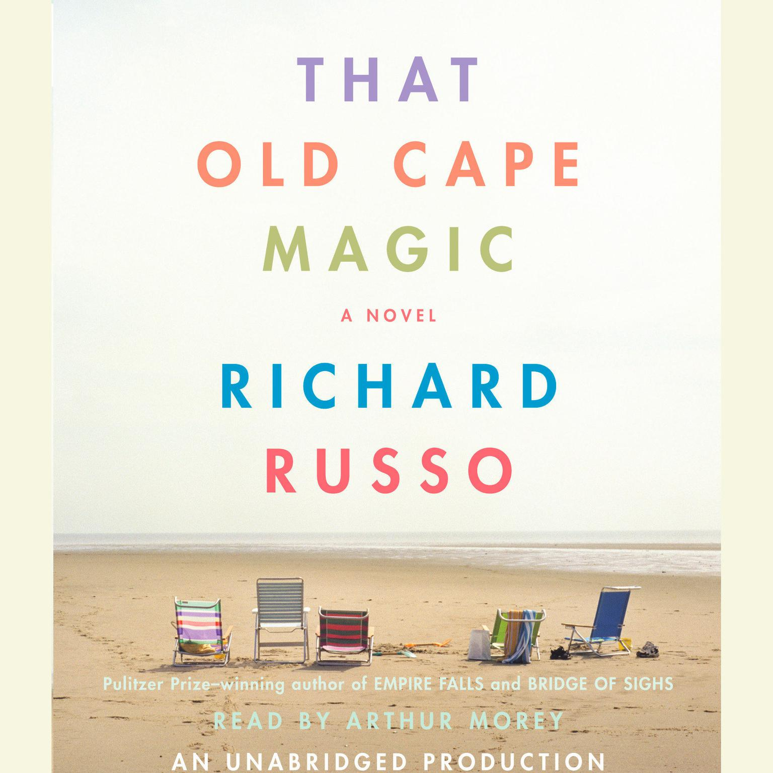 Printable That Old Cape Magic Audiobook Cover Art
