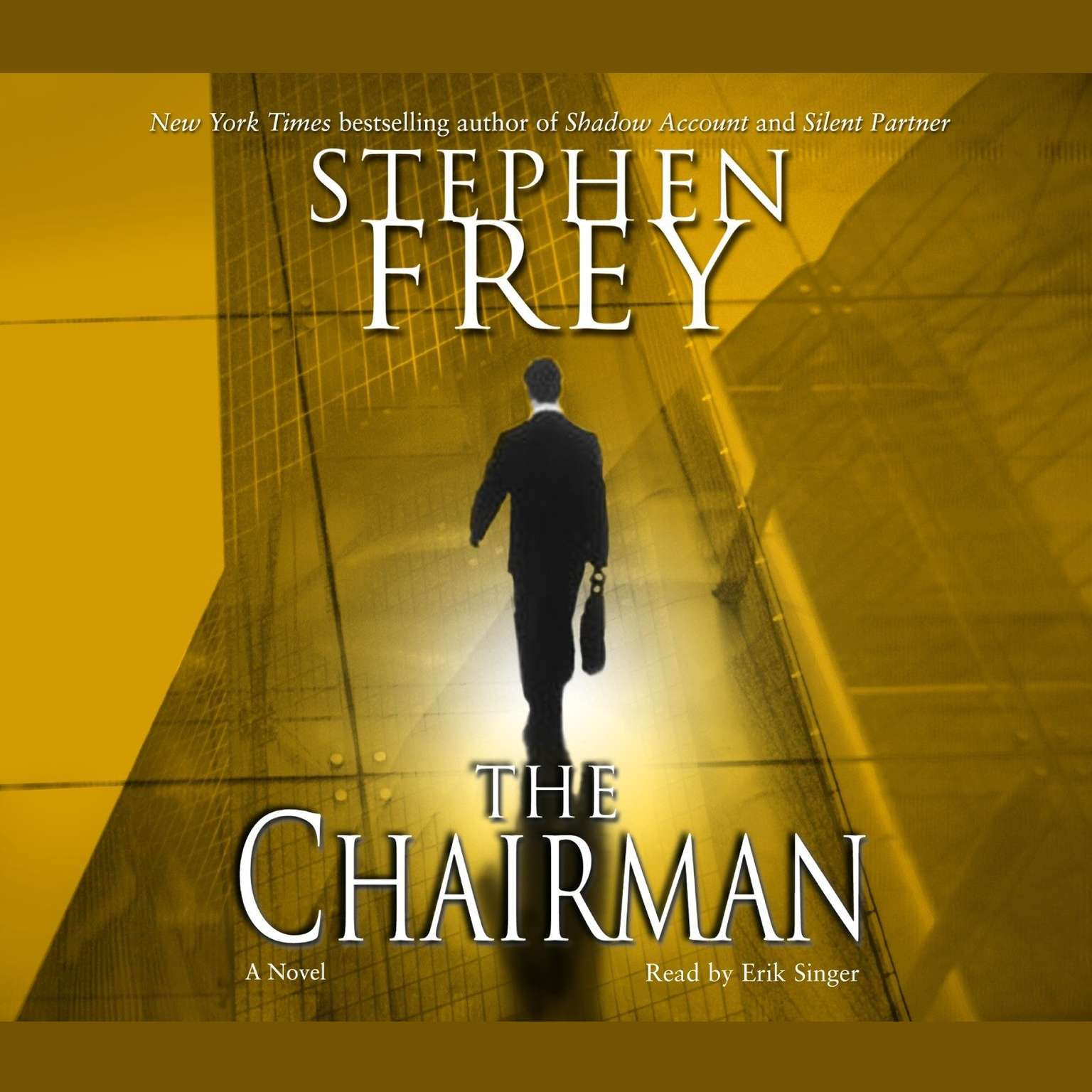 Printable The Chairman: A Novel Audiobook Cover Art