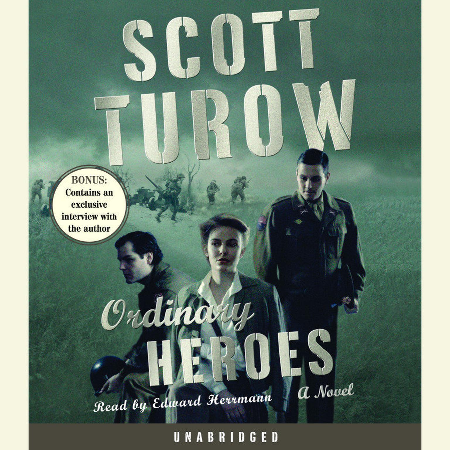 Printable Ordinary Heroes: A Novel Audiobook Cover Art