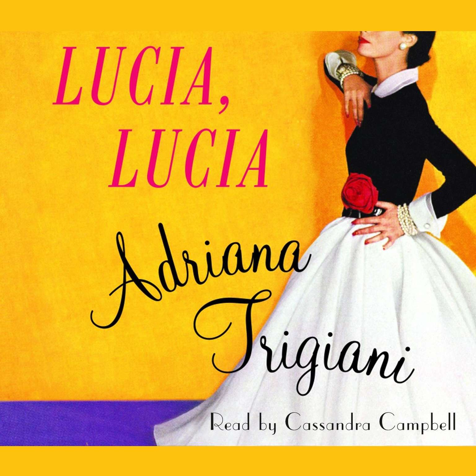 Printable Lucia, Lucia: A Novel Audiobook Cover Art
