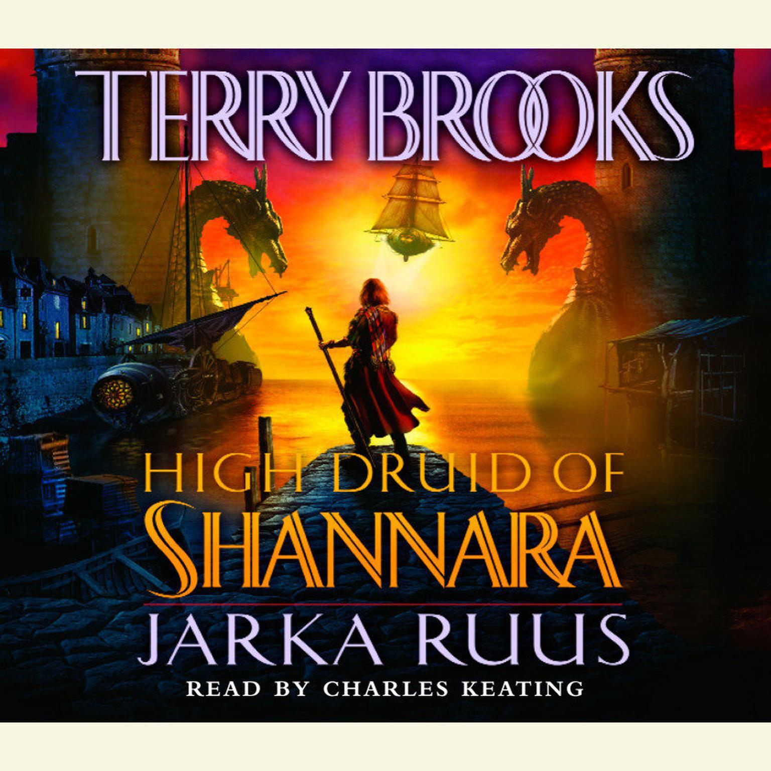 Printable High Druid of Shannara: Jarka Ruus Audiobook Cover Art