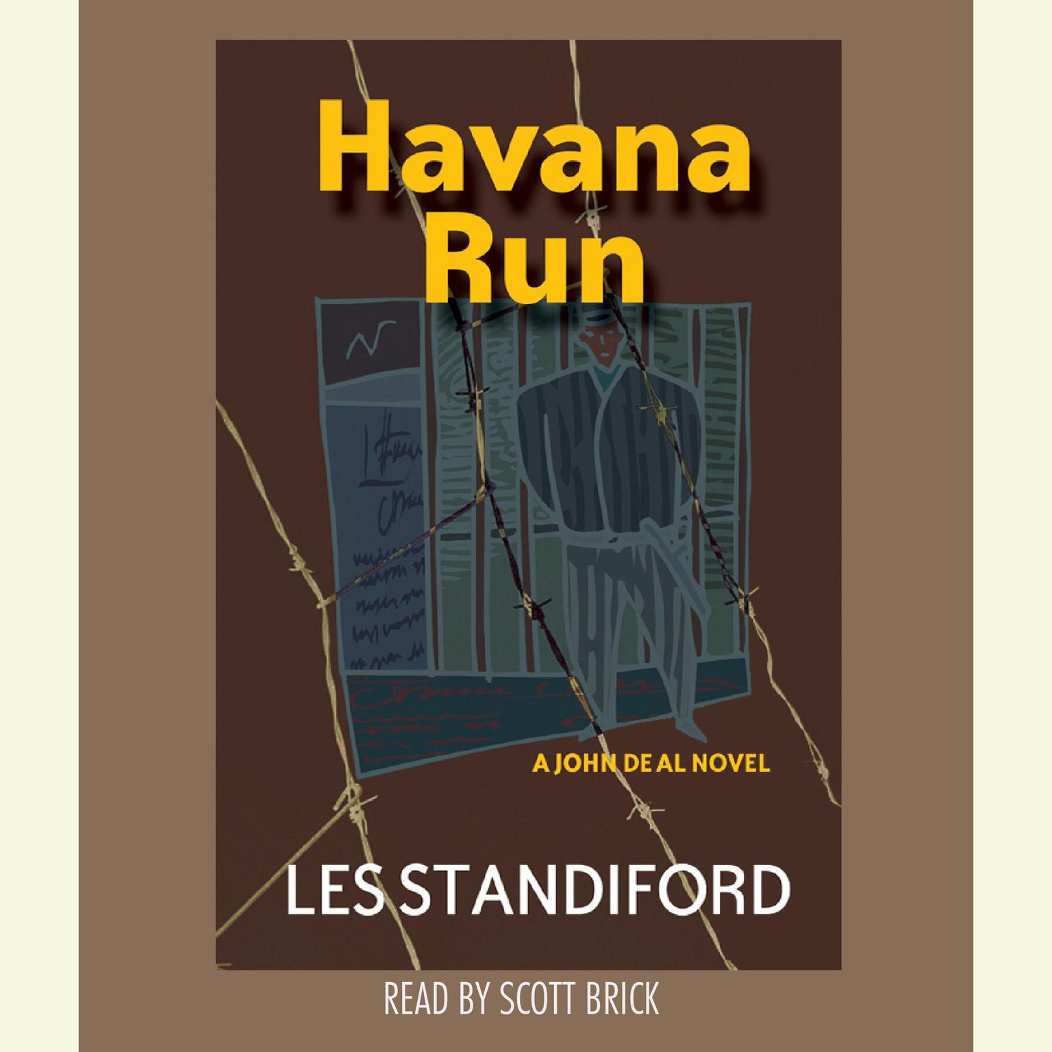 Printable Havana Run Audiobook Cover Art