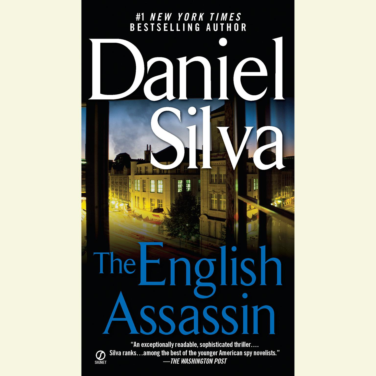 Printable The English Assassin Audiobook Cover Art