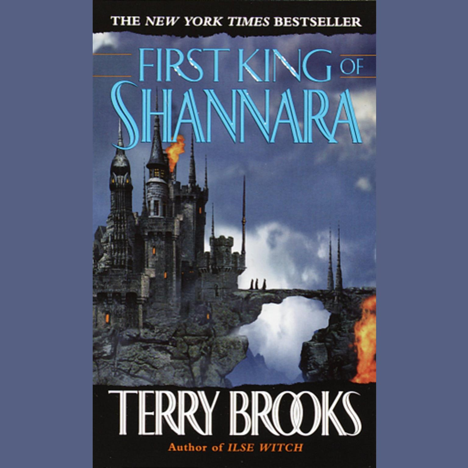 Printable The First King of Shannara Audiobook Cover Art