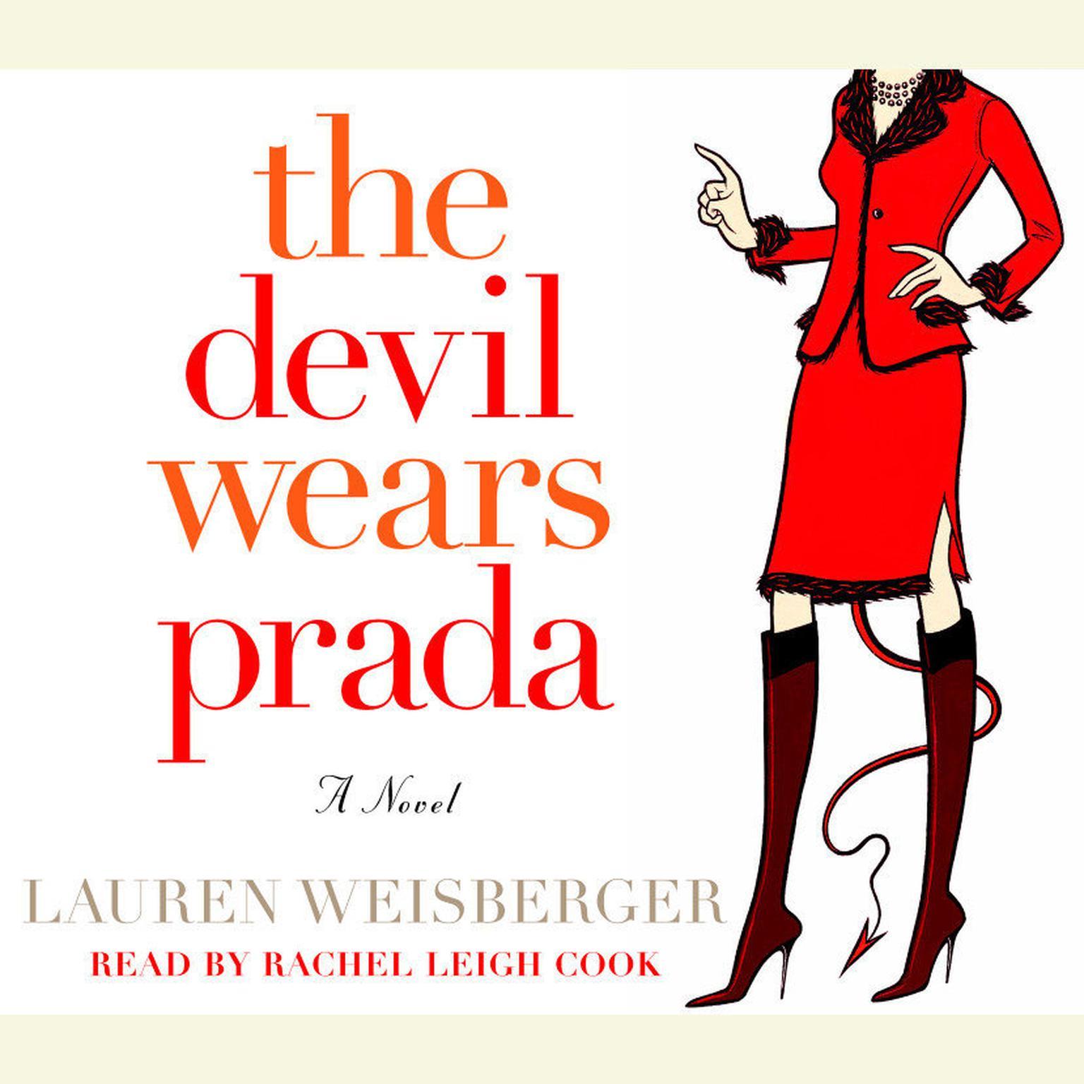 Printable The Devil Wears Prada Audiobook Cover Art