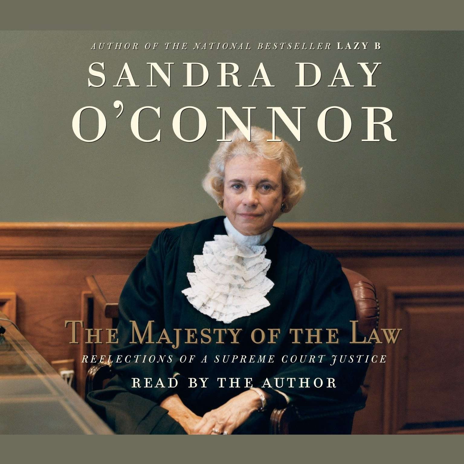 Printable The Majesty of the Law: Reflections of a Supreme Court Justice Audiobook Cover Art
