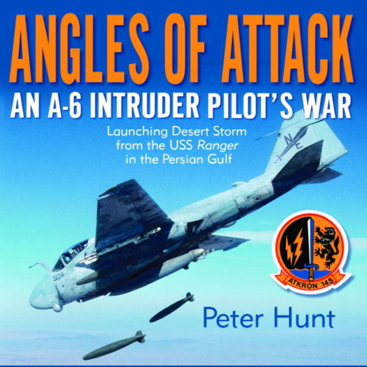 Printable Angles of Attack: An A-6 Intruder Pilot's War Audiobook Cover Art