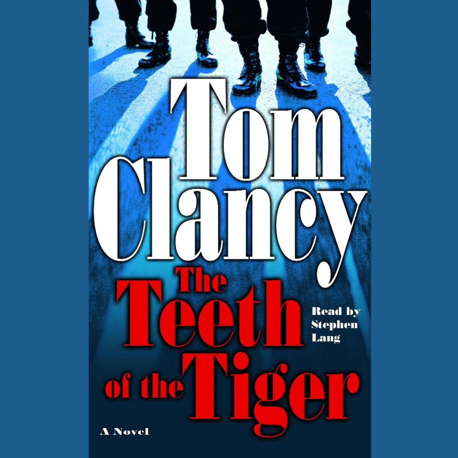 Printable The Teeth of the Tiger Audiobook Cover Art