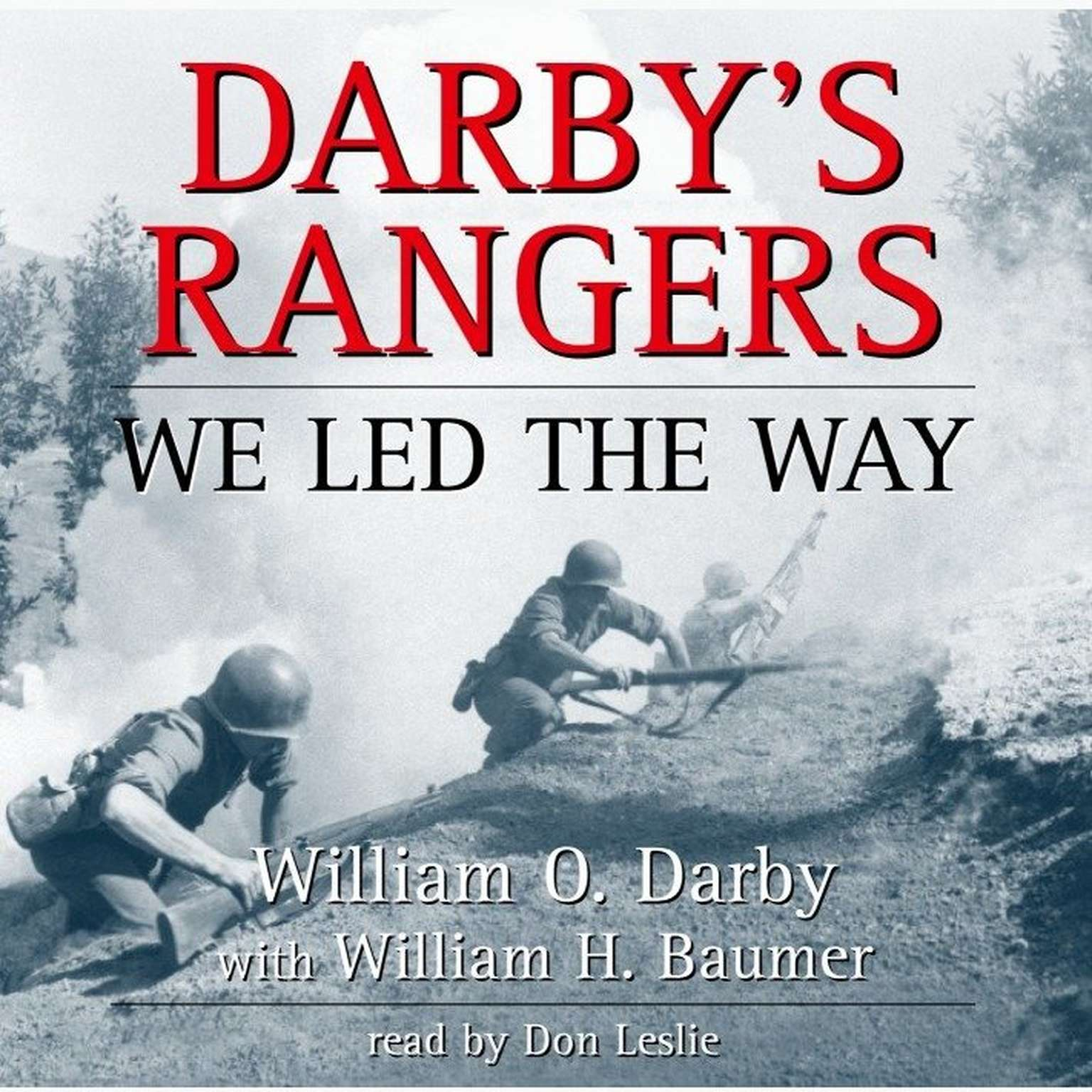 Printable Darby's Rangers: We Led the Way Audiobook Cover Art