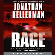 Rage: An Alex Delaware Novel, by Jonathan Kellerman