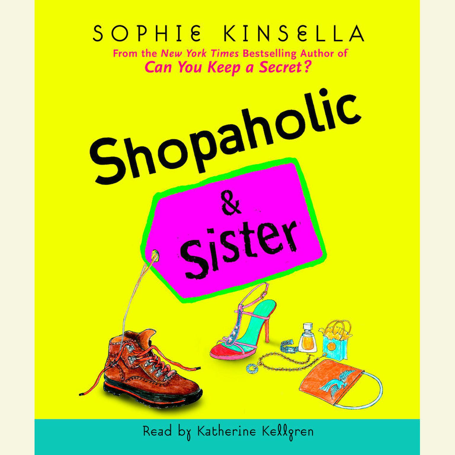 Printable Shopaholic & Sister Audiobook Cover Art
