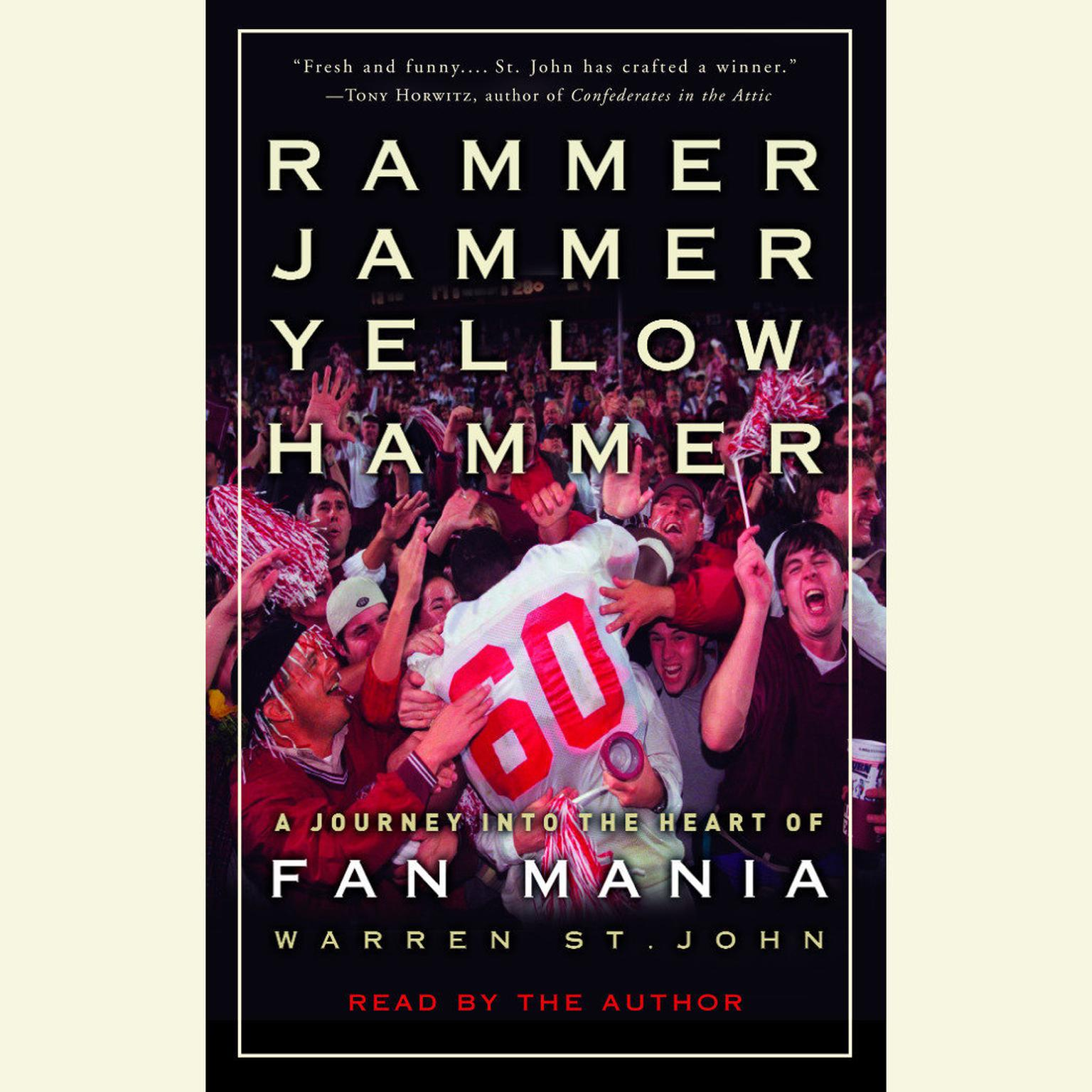 Printable Rammer Jammer Yellow Hammer: A Journey into the Heart of Fan Mania Audiobook Cover Art
