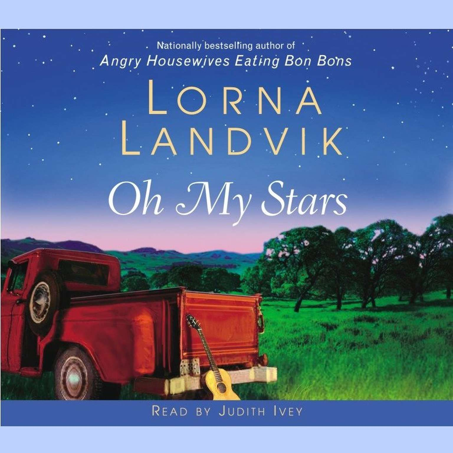 Printable Oh My Stars Audiobook Cover Art
