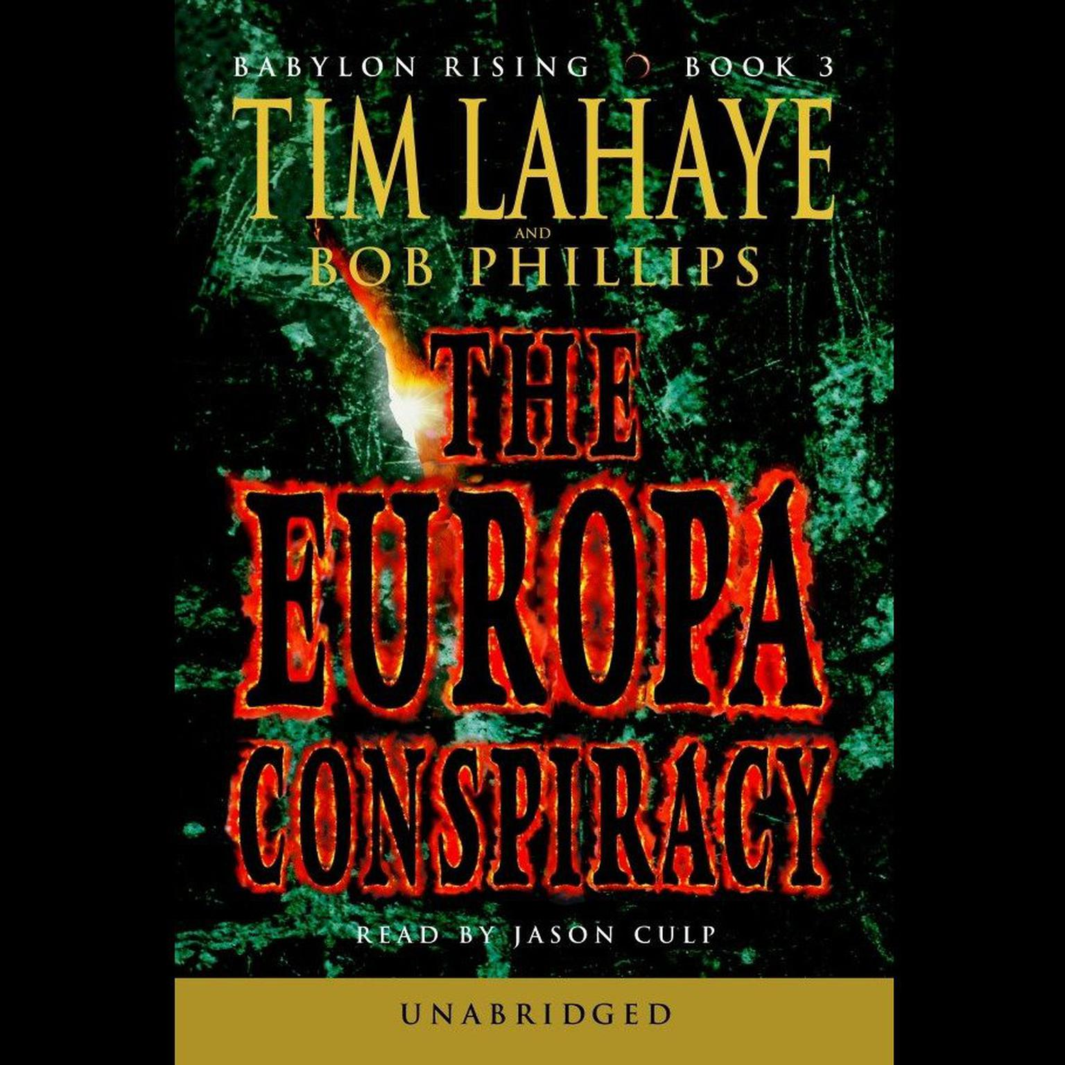Printable The Europa Conspiracy Audiobook Cover Art