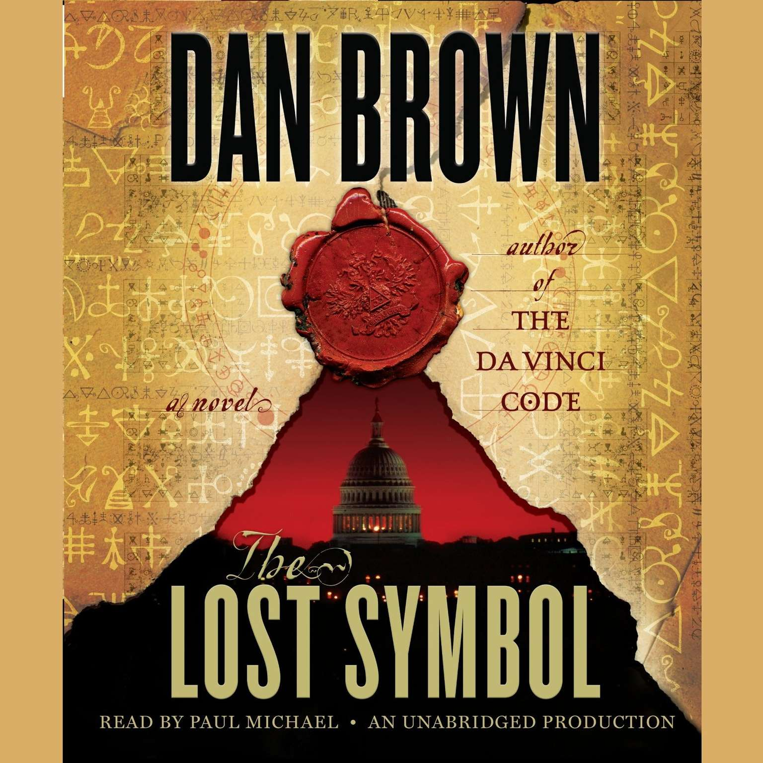 Printable The Lost Symbol Audiobook Cover Art
