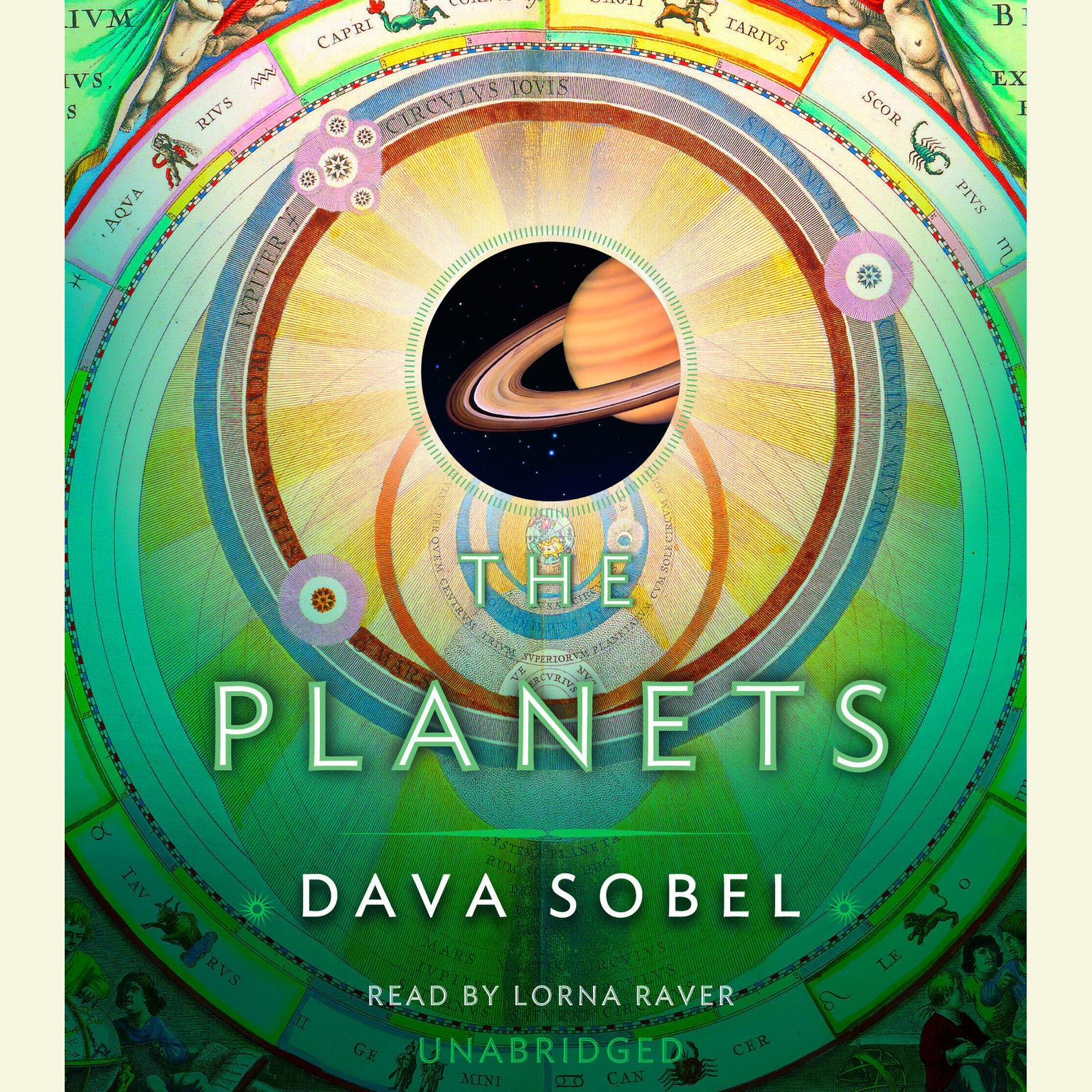 Printable The Planets Audiobook Cover Art
