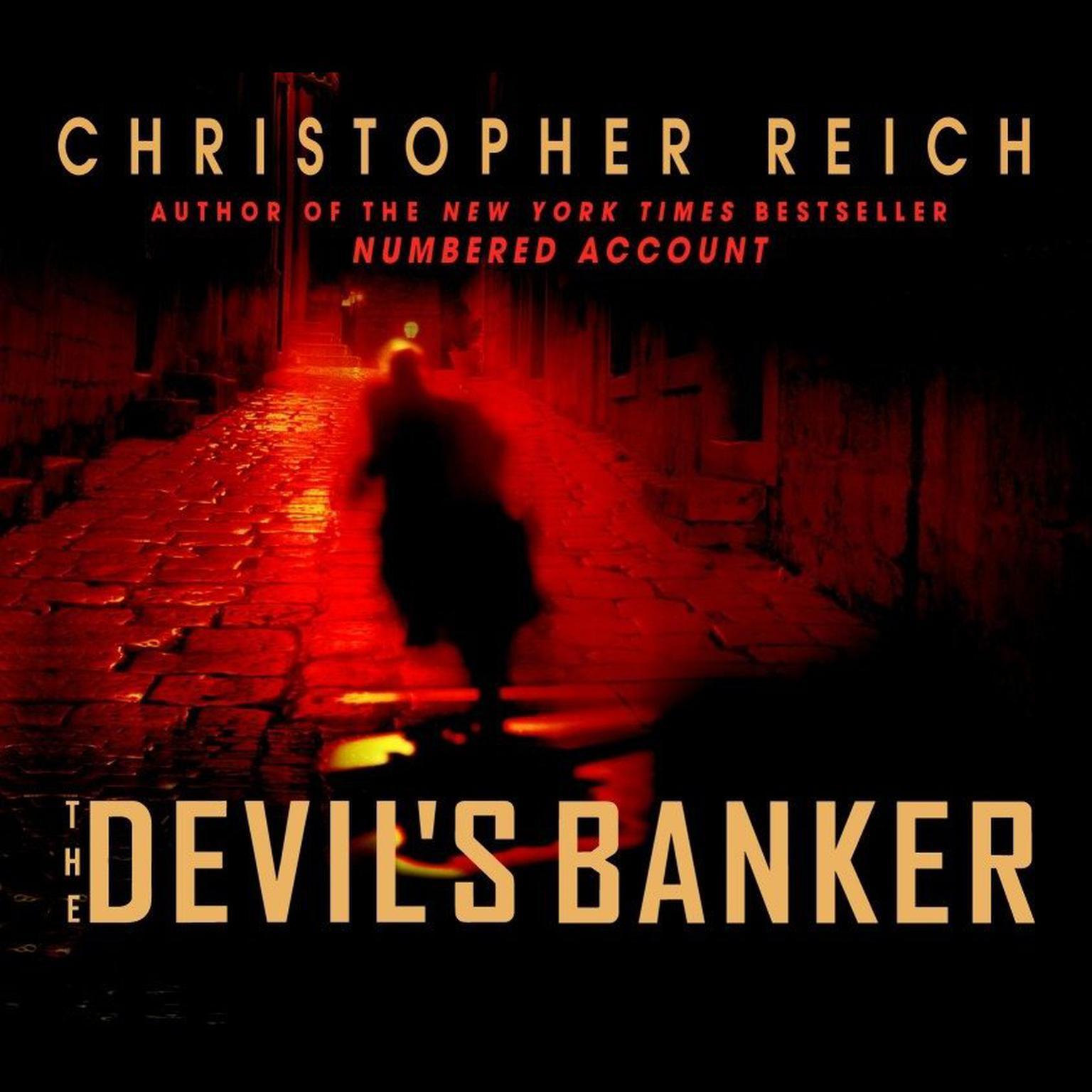 Printable The Devil's Banker Audiobook Cover Art