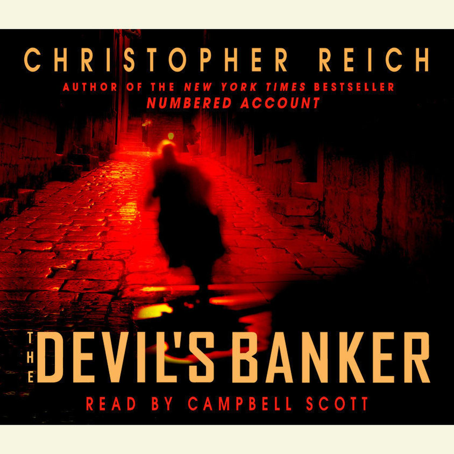 Printable The Devil's Banker Audiobook Cover Art